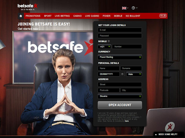 Betsafe screenshot 3