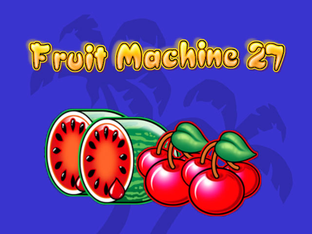 Owocowy automat do gry Fruit Machine 27