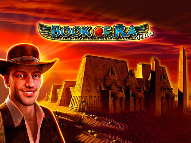 Pustynny automat do gry Book of Ra Deluxe