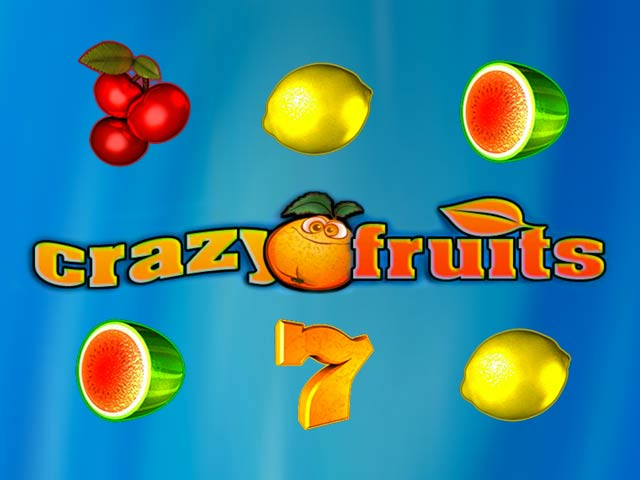 Owocowy automat do gry Crazy fruits
